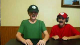 Mario and Luigi- Numa Numa