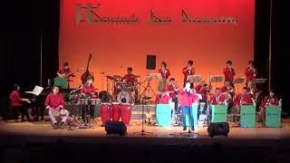 """兵庫県西宮市のアマチュアビッグバンド、ウエストウインズジャズ オーケストラです。 曲は中路英明氏作曲""""La Noche En Vario"""" 熱帯ジャズ楽団スタイルです。 ソロは ..."""
