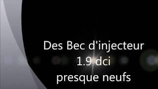 Doseur et Bec injecteur 1.9 dci , Pompe d'injection megan scenic 1.9 dt