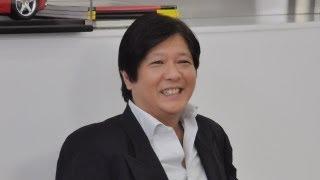 Sen. Bongbong Marcos - Courtesy of TV 5 - Cocktales Part I (1 June 2012)
