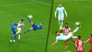 EPIC Bicycle Kick Goals In Football