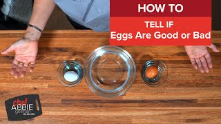 Egg Freshness Test: How to Tell If Eggs Are Good or Bad (Q&A)