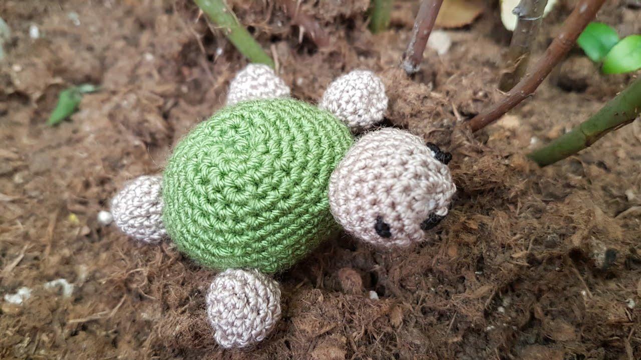 Amigurumi Tospik Kaplumbağa Yapımı - Canım Anne | 720x1280
