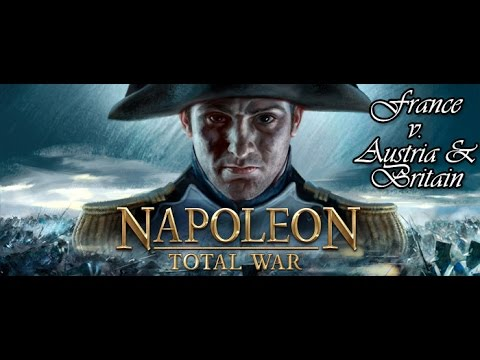 Napoleon Total War - France v Austria & Britain (Command Combat Computer Report)