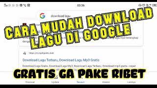 Cara mudah download lagu MP3 di Google