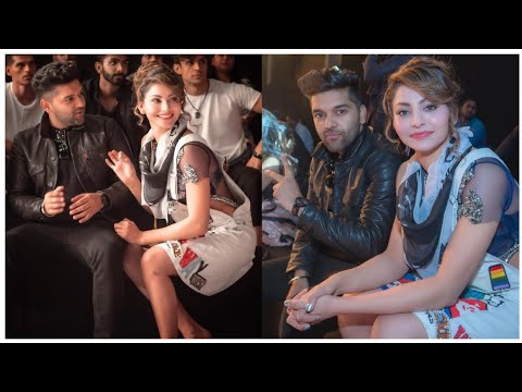 Guru Randhawa First Ramp Walk With Girlfriend Urvashi Rautela