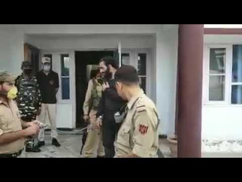 #DODA: Terrorist Tanvir Ahmed Malik Held By Security Forces In Village Tantna Of Doda District