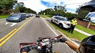 Supermoto Adventures | COPS ARE OUT!
