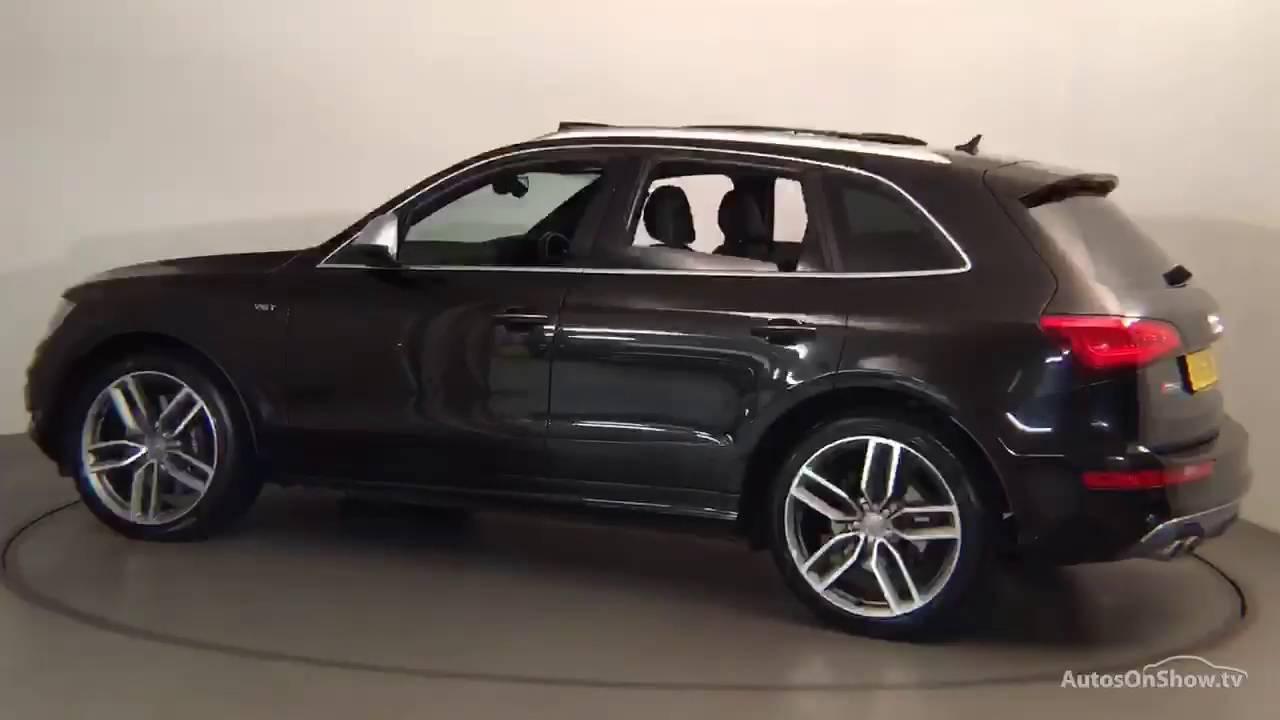 Audi Sq5 2018 Black >> AY15SMV AUDI Q5 SQ5 TDI QUATTRO BLACK 2015, Nottingham Audi - YouTube