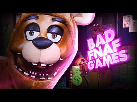 WHY WERE THESE GAMES MADE!!? | 4 BAD FNAF GAMES