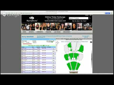 Jerry Seinfeld Foxwoods Mashantucket CT Tickets The MGM Grand Theater Concert