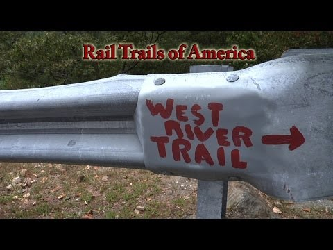 Rail Trails of America - West River Trail - Bratttleboro to South Londonderry, VT