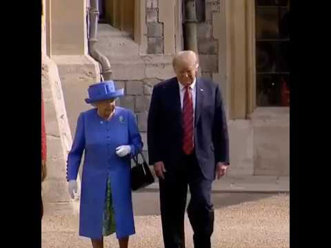 Donald Trump -  'No Respect For HRH Queen Of England' HQ