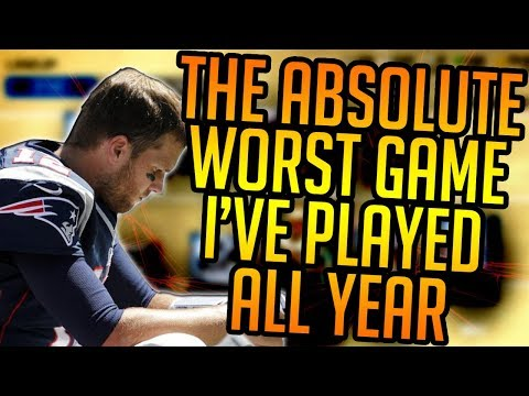 Madden 18 Ultimate Team :: The ABSOLUTE WORST Game I've Played ALL YEAR! :: Madden 18 Ultimate Team