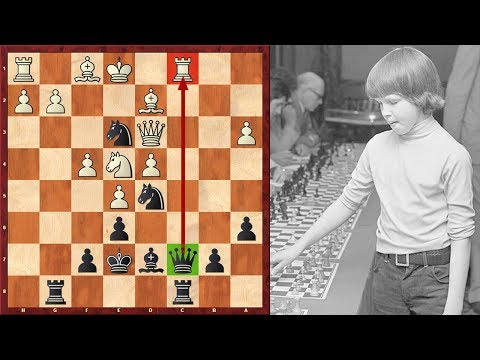 A Stunning Combination By 10-Year-Old Chess Prodigy Nigel Short