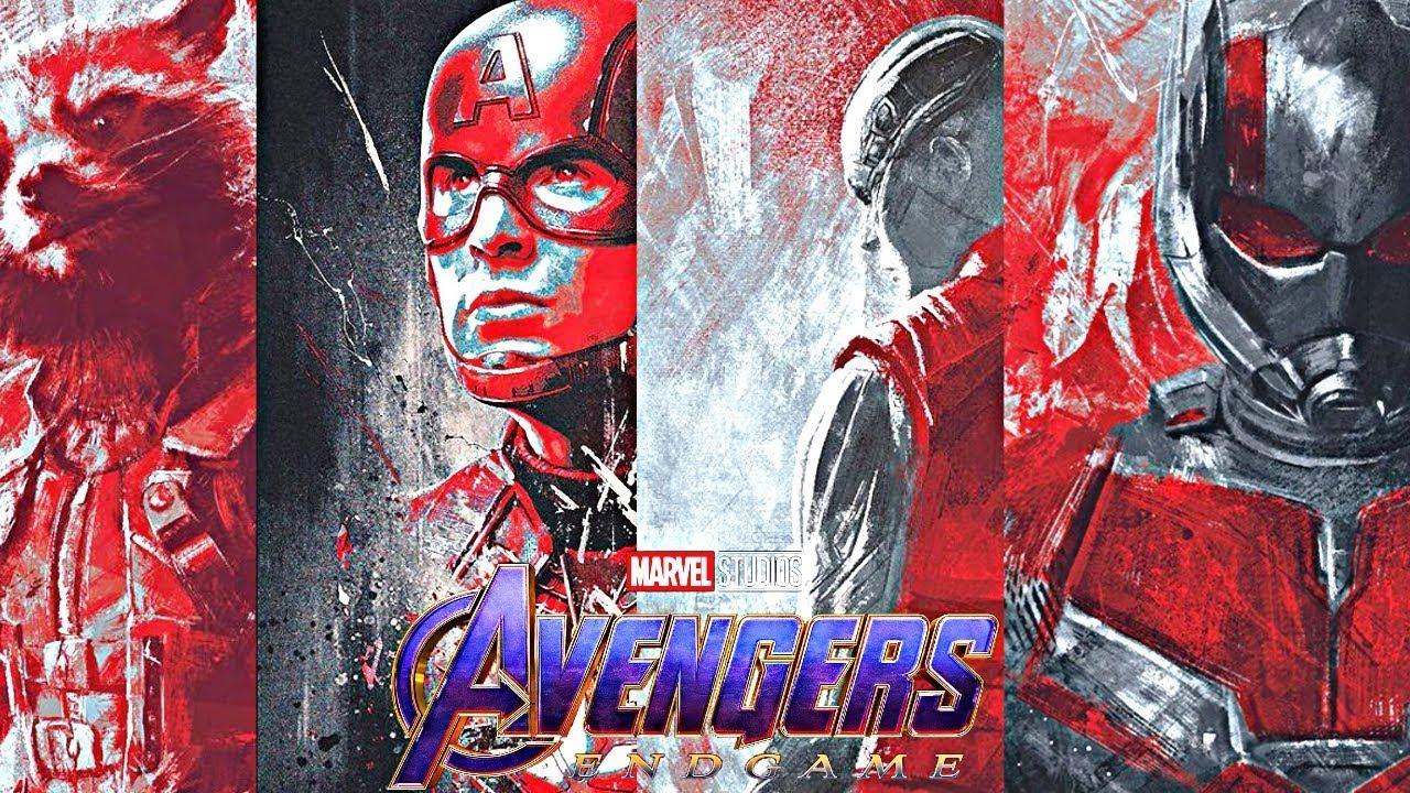 Avengers Endgame New Official Hero Promo Poster L Vm Epic Studio