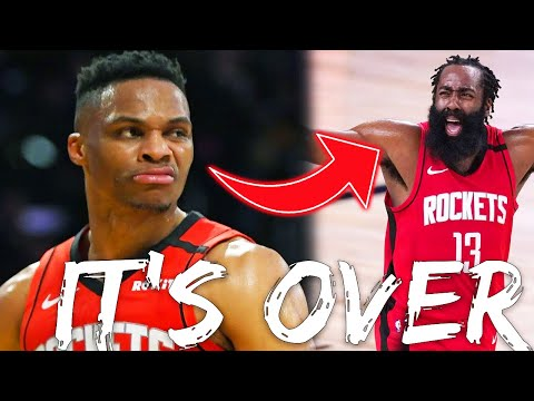Russell Westbrook Has Demanded A Trade From The Houston Rockets.. Why James Harden is Secretly Next