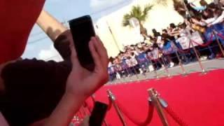2009.03.19 沖縄国際映画祭 レッドカーペットにて。