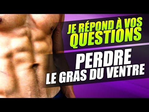 COMMENT PERDRE LE GRAS DU BAS DU VENTRE - FAQ LIVE