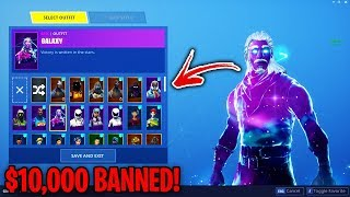 Top 5 MOST EXPENSIVE Fortnite Accounts THAT GOT BANNED!