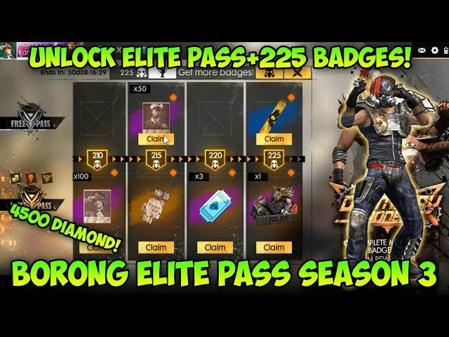 Borong Semua Elite Pass Season 3!! Review Doomsday Madness - Garena Free Fire