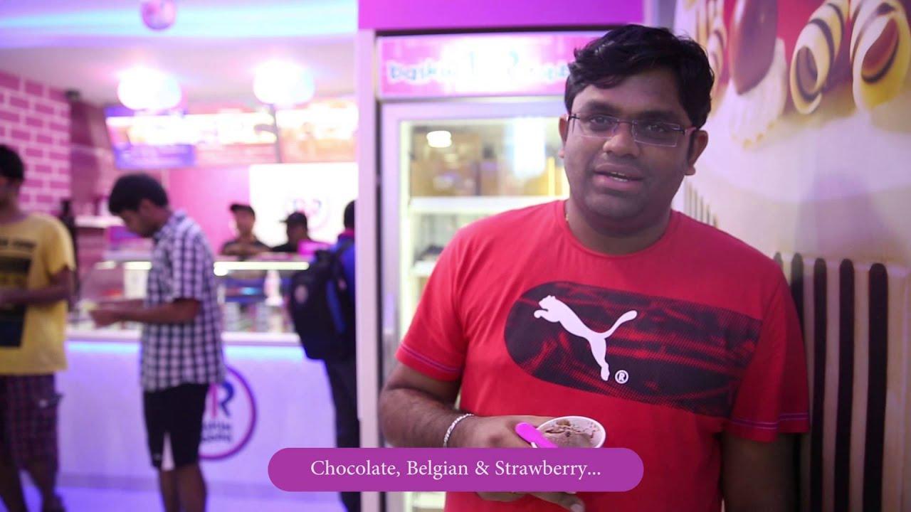 Baskin Robbins India Powai Launch Youtube