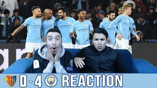 BARCA & MADRID FANS REACT TO: MAN CITY 0-4 WIN OVER BASEL - REACTION