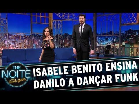 Isabele Benito ensina Danilo a dançar funk | The Noite (17/08/17)