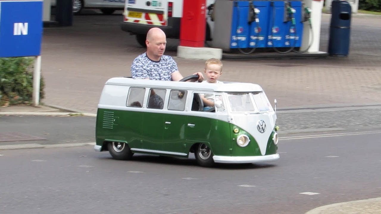 Fathers And Sons VW >> Dad Creates Tiny Vw Camper Van From Mobility Scooter