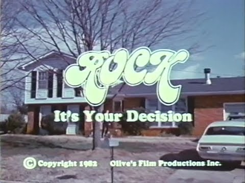 Rock Its Your Decision [1982] [VHS] [Christian Anti-Rock Film]