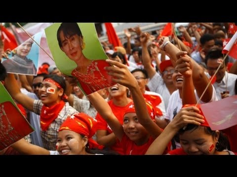 Aung San Suu Kyi wins Myanmar seat, says party