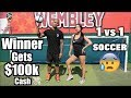 Playing DREE SOCCER for $100k CASH! | 2018 FIFA World Cup