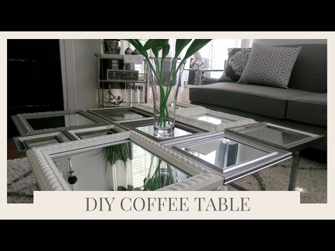 SIMPLE HOME DECOR IDEA & TUTORIAL | DIY COFFEE TABLE USING PICTURE FRAMES