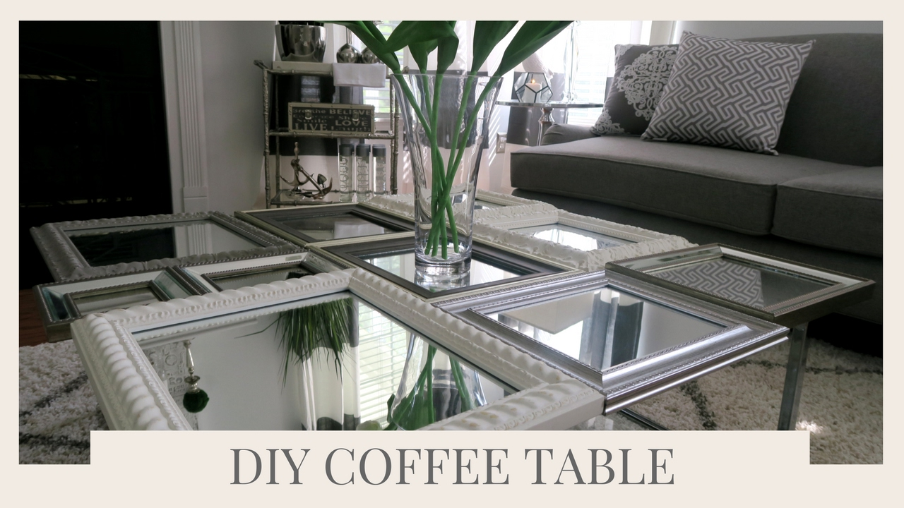 - SIMPLE HOME DECOR IDEA & TUTORIAL DIY COFFEE TABLE USING PICTURE
