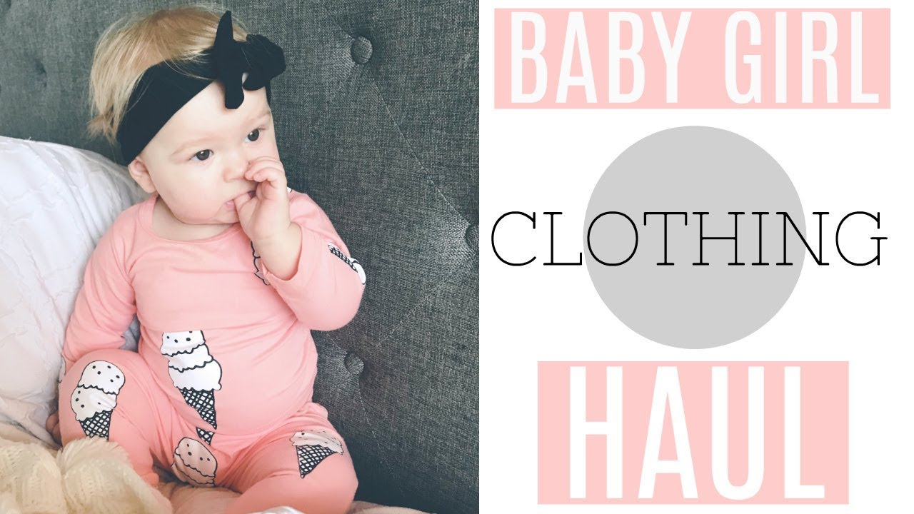 104c0cb09679 AFFORDABLE BABY GIRL CLOTHING HAUL- Carters Haul, Target, Old Navy baby  clothes