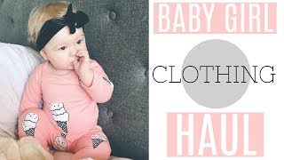 AFFORDABLE BABY GIRL CLOTHING HAUL- Carters Haul, Target, Old Navy baby clothes