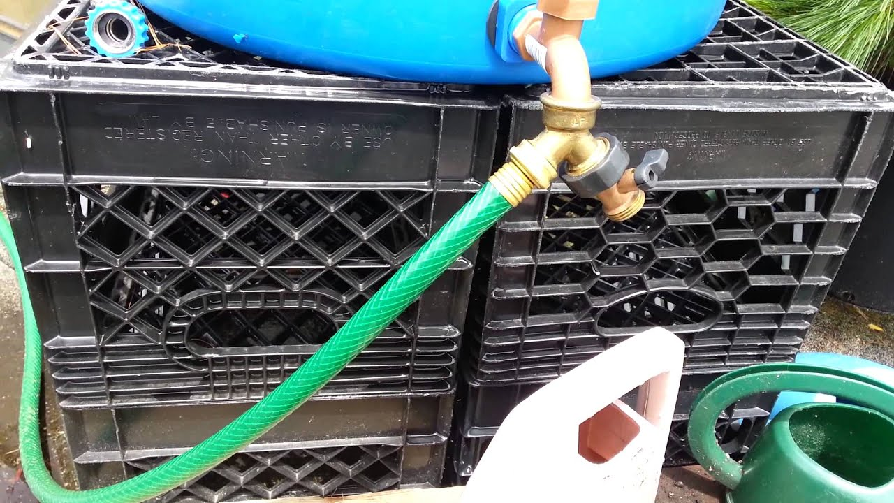 On Demand Rainbarrel Pump