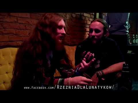 Maciek Kapusta Interview with Marek Frodys Pytlik for Rzeźnia dla Lunatyków: Warsaw 30.10.2017