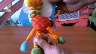 Погремушка Жираф Tiny Love обзор игрушек.