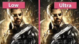 Deus Ex: Mankind Divided – PC Low vs. Medium vs. High vs. Ultra PC Graphics Comparison @1080p