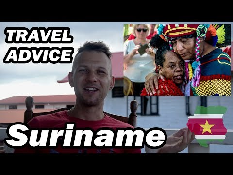 SURINAME Travel Advice / Backpacking Experience / Tour Review / My Opinion and first Impression
