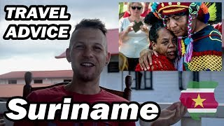 🇸🇷SURINAME Travel Advice / Backpacking Experience / Tour Review / My Opinion and first Impression