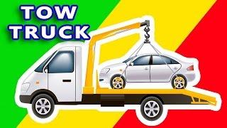 Tow Truck in Toy Garage -  BUILDING TRUCK