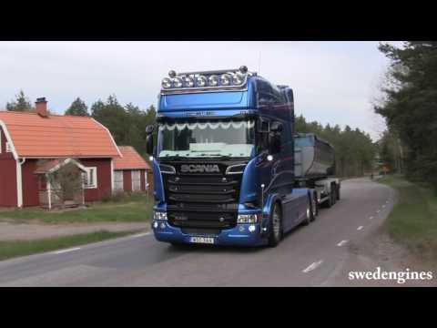 Scania R500 Longline V8 sound