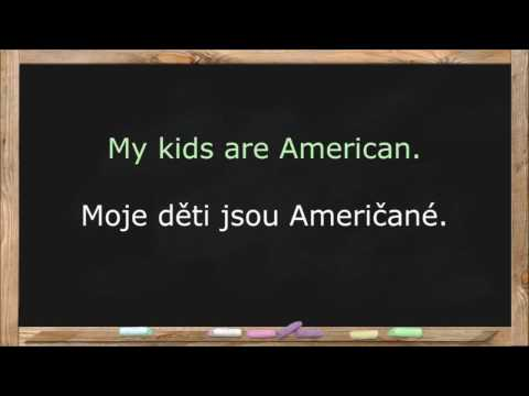 Learn Czech Language. Czech Lessons for Beginners.  Common Words & Basic Phrases - Lesson 3