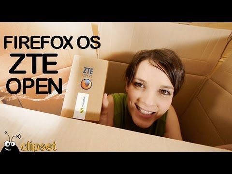 ZTE Open Firefox OS unboxing review
