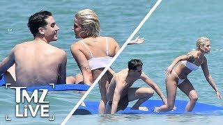 Halsey And G-Eazy Hot PDA On The Beach! | TMZ Live