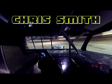 In car cam of Chris Smith at Highland Speedway 4-20-19