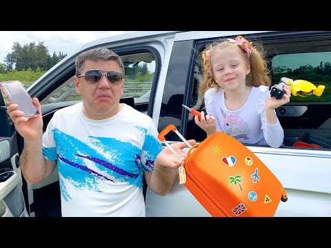 Nastya And Dad Are Going On A Trip