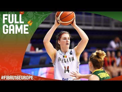 Belgium v Lithuania - Full Game - Round of 16 - FIBA U18 Women's European Championship 2017